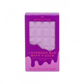 Makeup Revolution London I Heart Revolution Chocolate Bar Bath Fizzer Pianka do kąpieli 110g Lavender