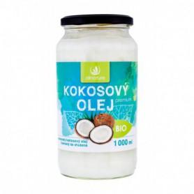 Allnature Premium Bio Coconut Oil Preparat prozdrowotny 1000ml