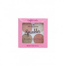 Makeup Revolution London I Heart Revolution Sprinkles Róż 6g Confetti Cookie
