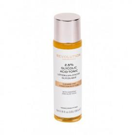 Makeup Revolution London Skincare 2,5% Glycolic Acid Tonic Wody i spreje do twarzy 200ml