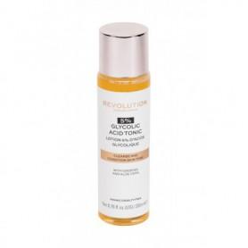 Makeup Revolution London Skincare 5% Glycolic Acid Tonic Wody i spreje do twarzy 200ml