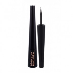 Makeup Revolution London Liquid Eyeliner Eyeliner 3ml Ultra Black
