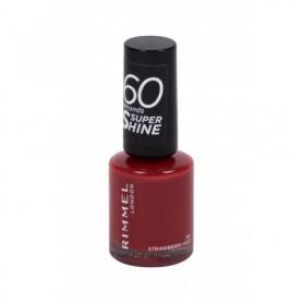 Rimmel London 60 Seconds Super Shine Lakier do paznokci 8ml 713 Strawberry Fizz