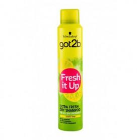 Schwarzkopf Got2b Fresh It Up Extra Fresh Suchy szampon 200ml