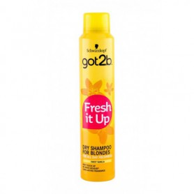 Schwarzkopf Got2b Fresh It Up For Blondes Suchy szampon 200ml