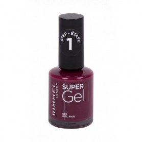 Rimmel London Super Gel STEP1 Lakier do paznokci 12ml 092 Girl Pwr