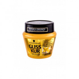 Schwarzkopf Gliss Kur Oil Nutritive Maska do włosów 300ml