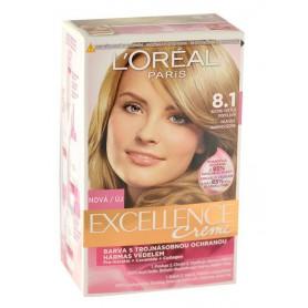 L´Oréal Paris Excellence Creme Farba do włosów 1szt 8,1 Natural Ash Blonde