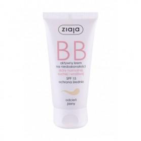Ziaja BB Cream Normal and Dry Skin SPF15 Krem BB 50ml Light