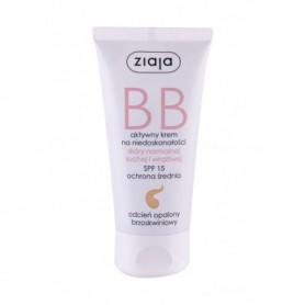 Ziaja BB Cream Normal and Dry Skin SPF15 Krem BB 50ml Dark