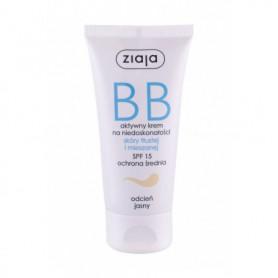 Ziaja BB Cream Oily and Mixed Skin SPF15 Krem BB 50ml Light