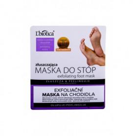 L´Biotica Foot Mask Exfoliating Pielęgnacja stóp 1szt