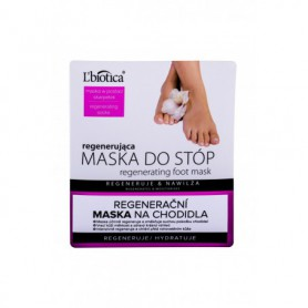 L´Biotica Foot Mask Regenerating Pielęgnacja stóp 1szt