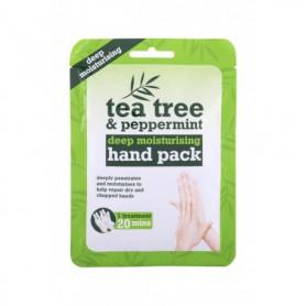 Xpel Tea Tree Tea Tree & Peppermint Deep Moisturising Hand Pack Krem do rąk 1szt
