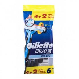 Gillette Blue3 Smooth Maszynka do golenia 6szt