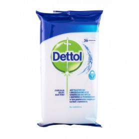 Dettol Antibacterial Cleansing Surface Wipes Antybakteryjne kosmetyki 36szt