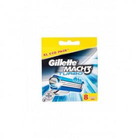 Gillette Mach3 Turbo Wkład do maszynki 8szt
