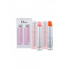 Christian Dior Addict Lip Glow Duo Balsam do ust 3,5g 001 Pink zestaw upominkowy