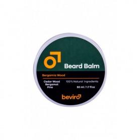 Be-Viro Men´s Only Beard Balm Wosk do zarostu 50ml Cedar Wood, Bergamot, Pine