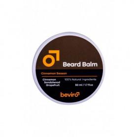 Be-Viro Men´s Only Beard Balm Wosk do zarostu 50ml Grapefruit, Cinnamon, Sandal Wood
