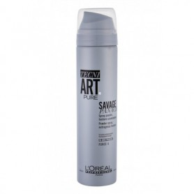 L´Oréal Professionnel Tecni.Art Savage Panache Pure Powder Spray Objętość włosów 250ml