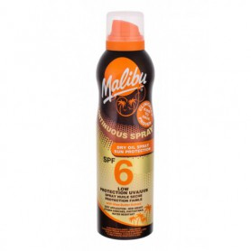 Malibu Continuous Spray Dry Oil SPF6 Preparat do opalania ciała 175ml