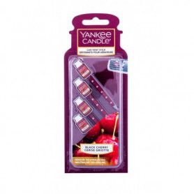 Yankee Candle Black Cherry Vent Stick Zapach samochodowy 4szt