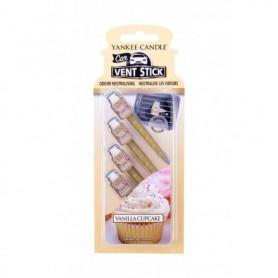 Yankee Candle Vanilla Cupcake Vent Stick Zapach samochodowy 4szt
