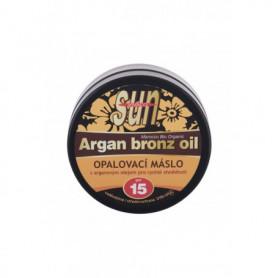 Vivaco Sun Argan Bronz Oil SPF15 Preparat do opalania twarzy 200ml