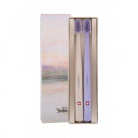 Curaprox 5460 Ultra Soft Limited Edition Szczoteczka do zębów 2szt Beige & Purple
