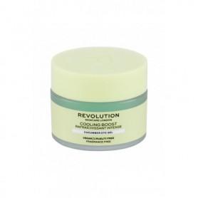 Makeup Revolution London Skincare Cooling Boost Cucumber Żel pod oczy 15ml