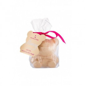 Makeup Revolution London I Heart Revolution Bath Fizzer Teddy Bear Pianka do kąpieli 150g Honey