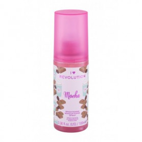 Makeup Revolution London I Heart Revolution Fixing Spray Mocha Utrwalacz makijażu 100ml