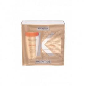 Kérastase Nutritive Bain Satin 2 Irisome Szampon do włosów 250ml zestaw upominkowy