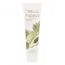 Ecodenta Organic Papaya Whitening Pasta do zębów 100ml