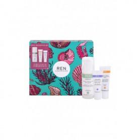 Ren Clean Skincare Evercalm Global Protection Krem do twarzy na dzień 50ml zestaw upominkowy