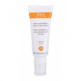 Ren Clean Skincare Radiance Wake Wonderful Night-Time Facial Krem na noc 40ml