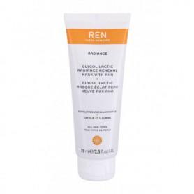 Ren Clean Skincare Radiance Glycol Lactic Radiance Renewal AHA Maseczka do twarzy 75ml
