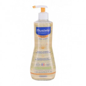 Mustela Bébé Cleansing Oil Olejek do kąpieli 500ml