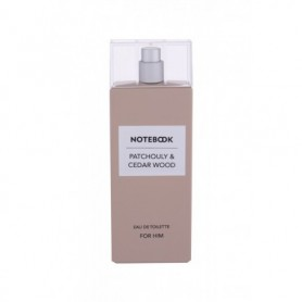 Notebook Fragrances Patchouly & Cedar Wood Woda toaletowa 100ml