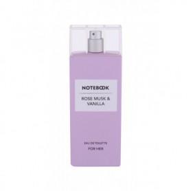 Notebook Fragrances Rose Musk & Vanilla Woda toaletowa 100ml
