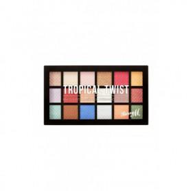 Barry M Eyeshadow Palette Tropical Twist Cienie do powiek 16,2g