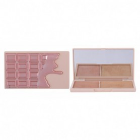 Makeup Revolution London I Heart Makeup Chocolate Duo Palette Rozświetlacz 11,2g Rose Gold Glow