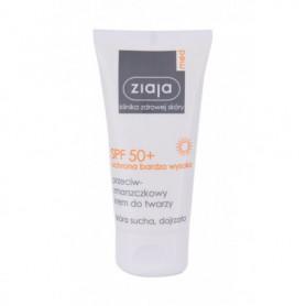 Ziaja Med Protective Anti-Wrinkle SPF50  Preparat do opalania twarzy 50ml