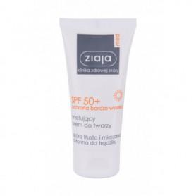 Ziaja Med Protective Matifying SPF50  Preparat do opalania twarzy 50ml