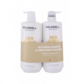 Goldwell Dualsenses Rich Repair Szampon do włosów 1000ml zestaw upominkowy