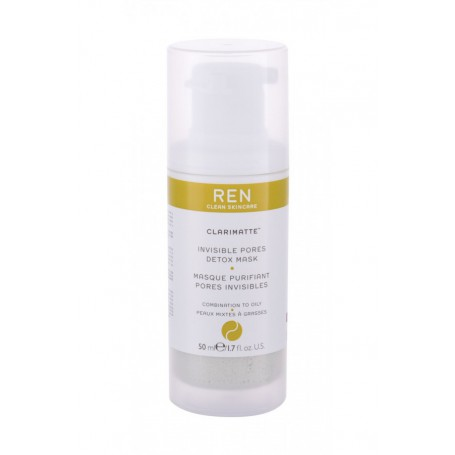 Ren Clean Skincare Clarimatte Invisible Pores Detox Maseczka do twarzy 50ml