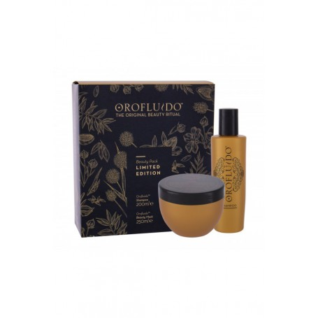 Orofluido Beauty Elixir Szampon do włosów 200ml zestaw upominkowy