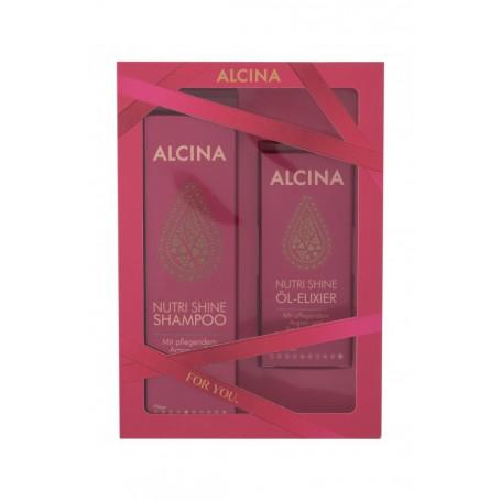 ALCINA Nutri Shine Szampon do włosów 250ml zestaw upominkowy