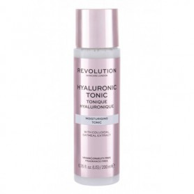 Makeup Revolution London Skincare Hyaluronic Tonic Moisturising Wody i spreje do twarzy 200ml